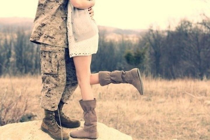 Dating a military man tumblr