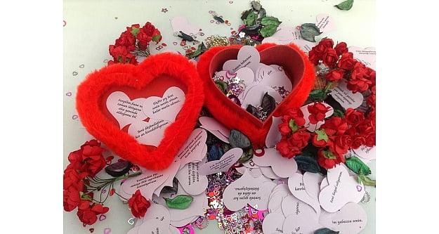 Sevgili İçin En Güzel Sevgiliye Aşk Sözleri İçeren Hediyeler