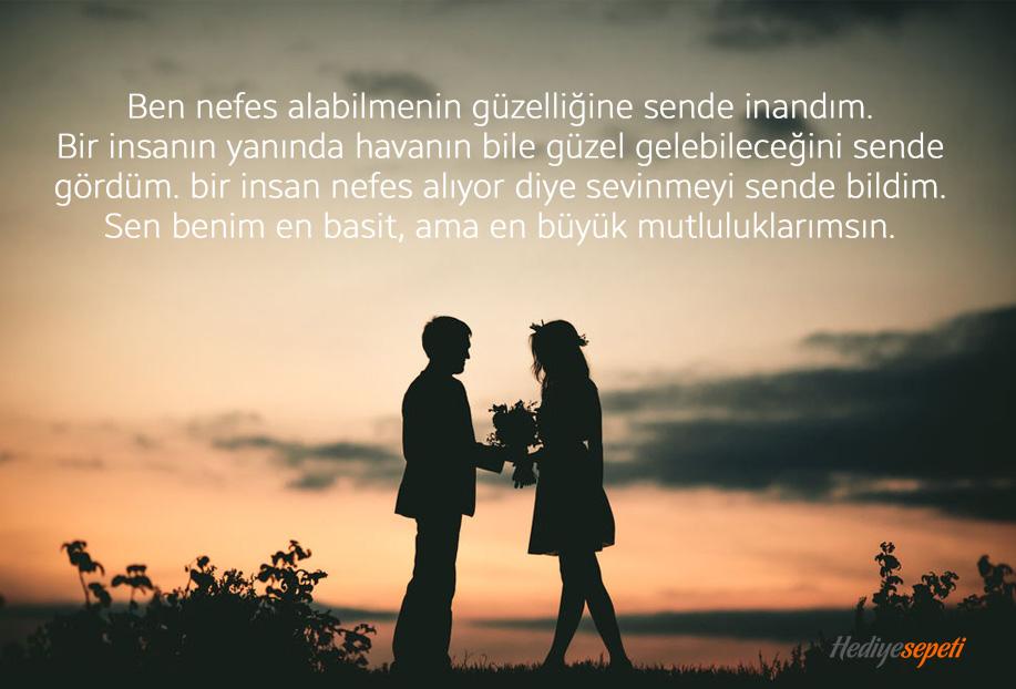 sevgiliye güzel aşk sözleri