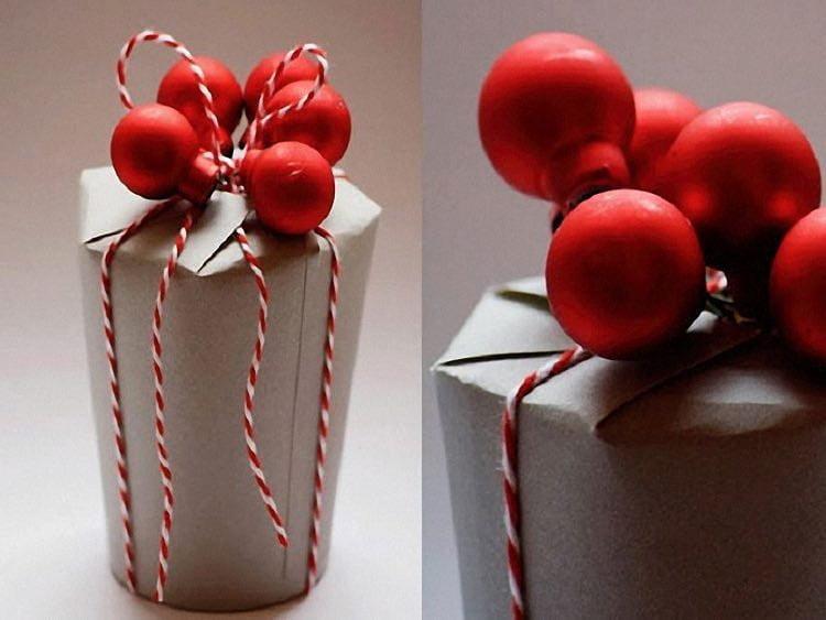 Karton bardaktan el yapımı hediye kutusu 4