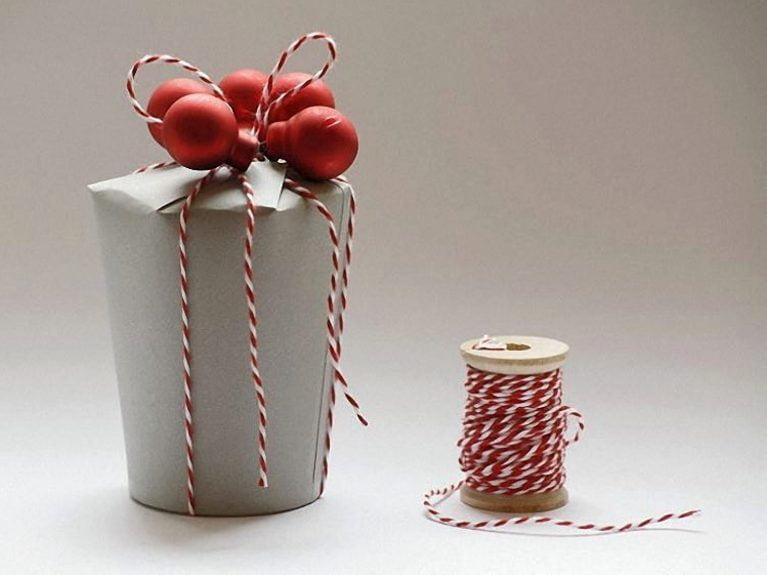 Karton bardaktan el yapımı hediye kutusu