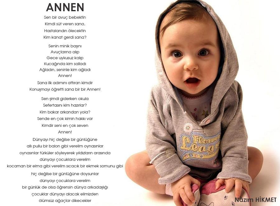 Ünlü Şairlerden En Güzel Anneler Günü Şiirleri