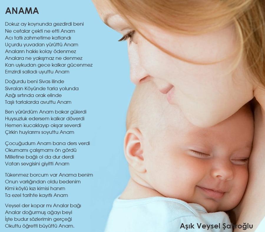 Ünlü Şairlerden En Güzel Anneler Günü Şiirleri 10