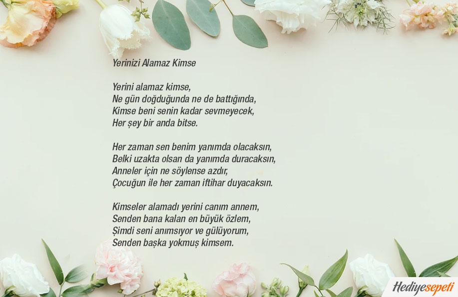 anneler günü şiirleri 3 kıta