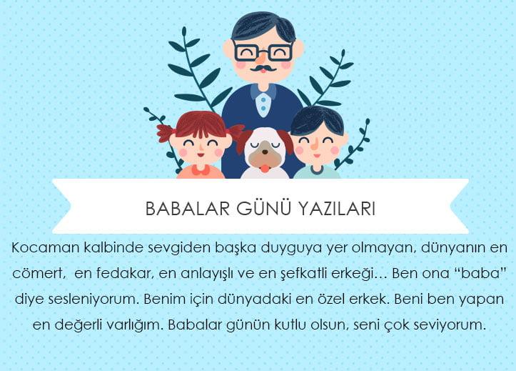 Babalar Günü Yazıları Babanızı Mutlu Edecek 20 Yazı Hediye Sepeti