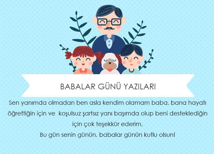 Babalar Gunu Yazilari Babanizi Mutlu Edecek 20 Yazi Hediye Sepeti Blog