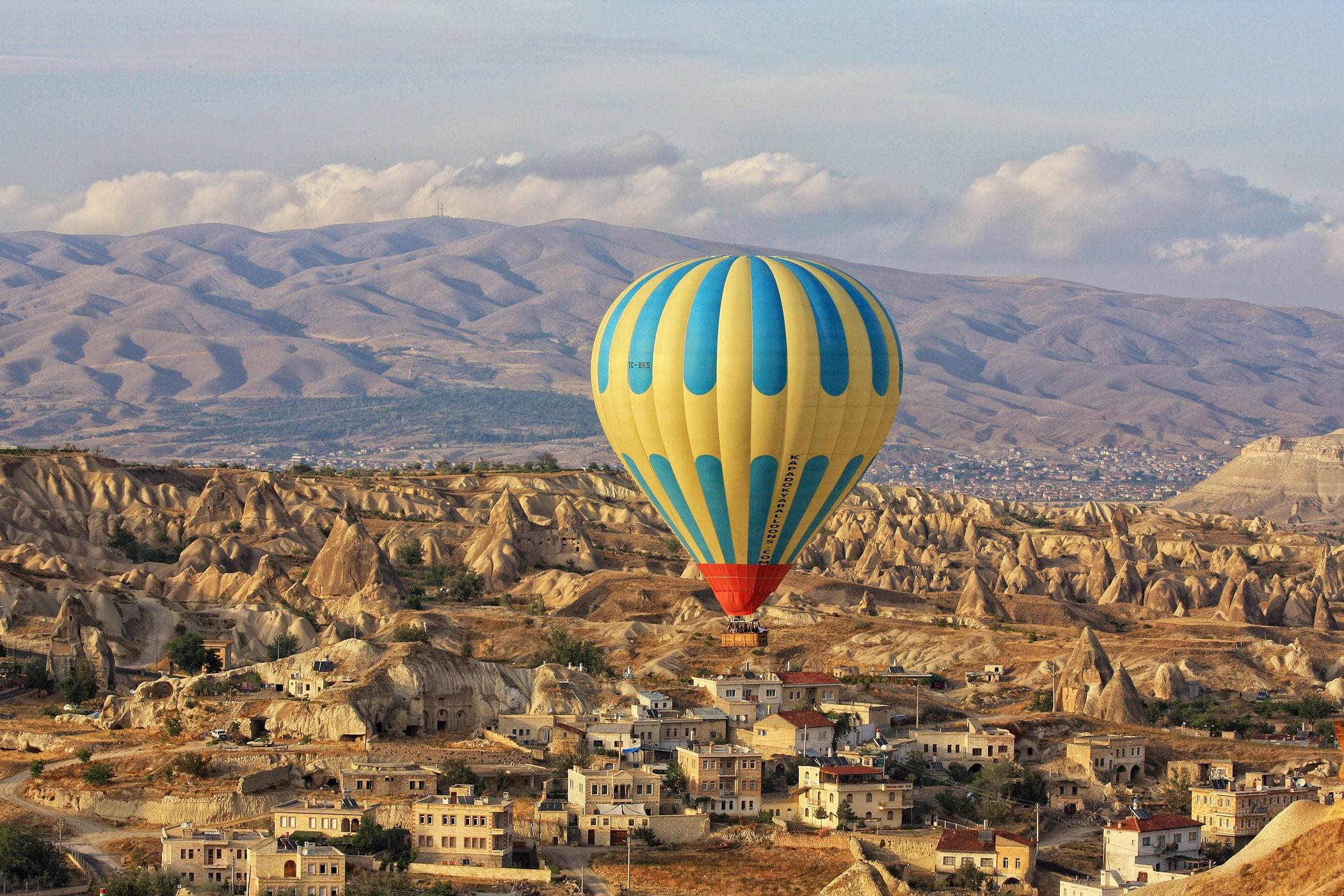 Peri bacaları, Kapadokya Nevşehir