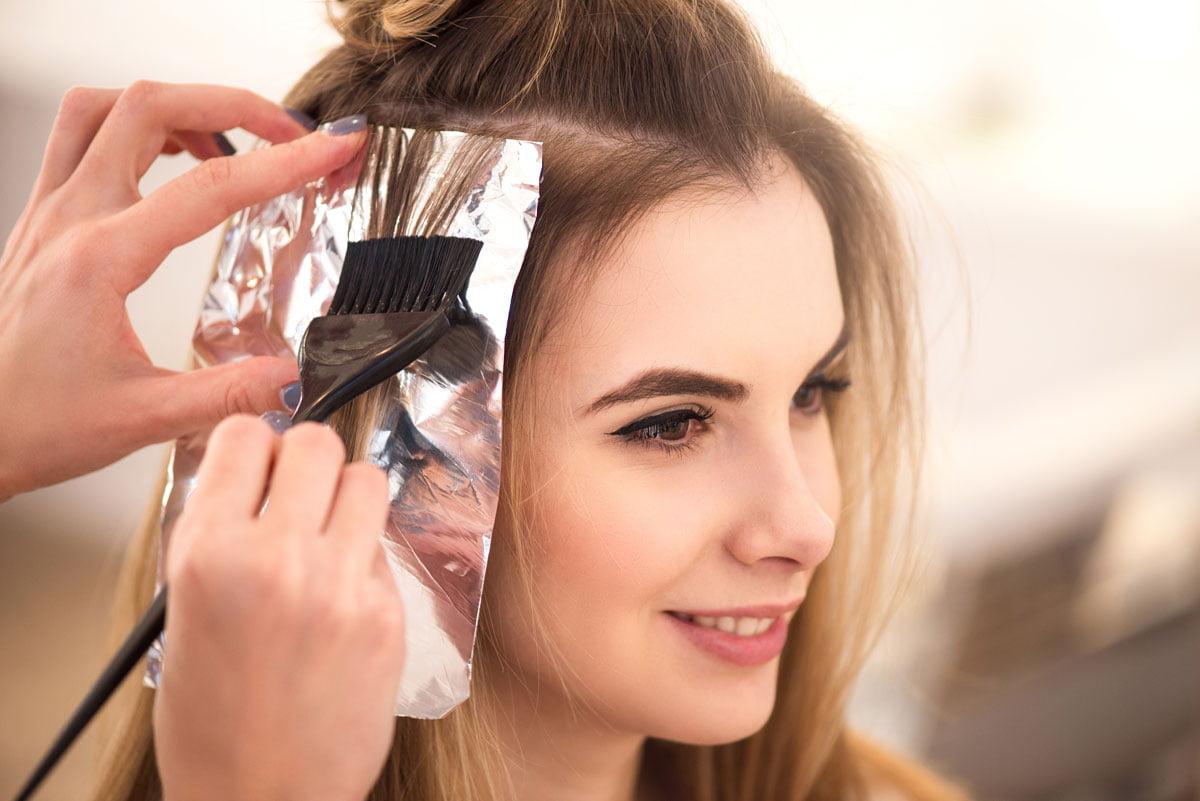 saçlarda değişiklik yapma