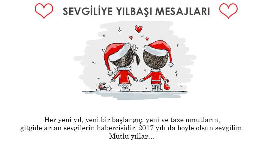 sevgiliye yeni yil mesajlari