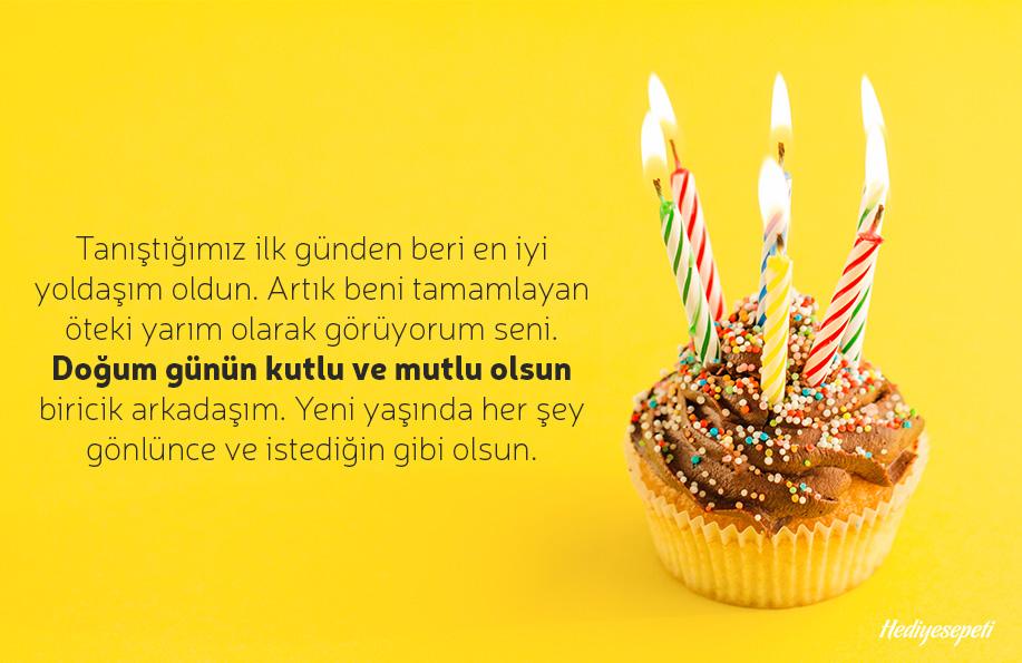 arkadaşa doğum günü sözleri