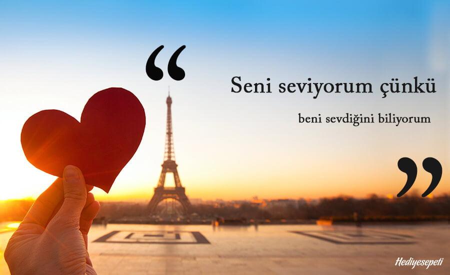 eşe seni seviyorum sözleri