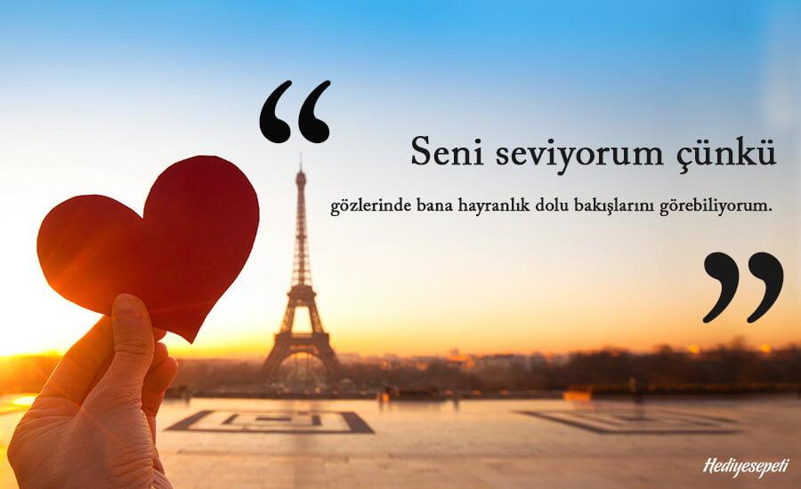 en güzel seni seviyorum mesajları