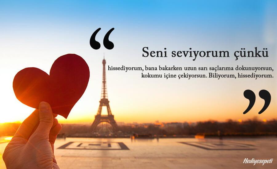 kısa seni seviyorum sözleri