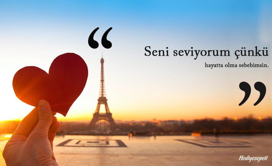 seni seviyorum sözleri