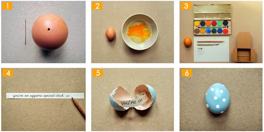 sevgiliye el yapımı sürpriz yumurta