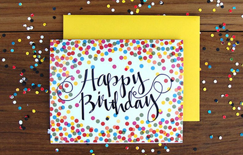 doğum günü kart örnekleri
