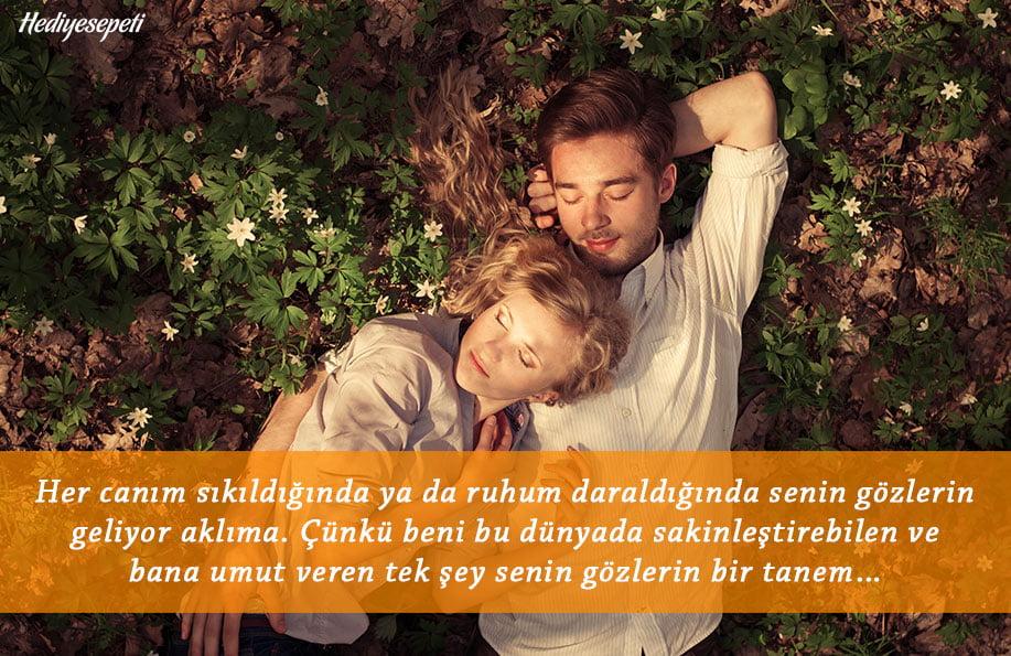 sevgiliye romantik sözler