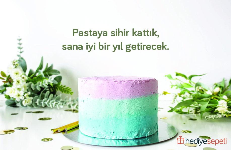 doğum günü pasta üstü yazıları