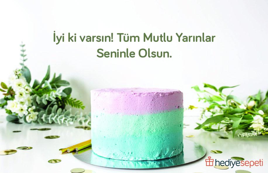 doğum günü pastası yazıları