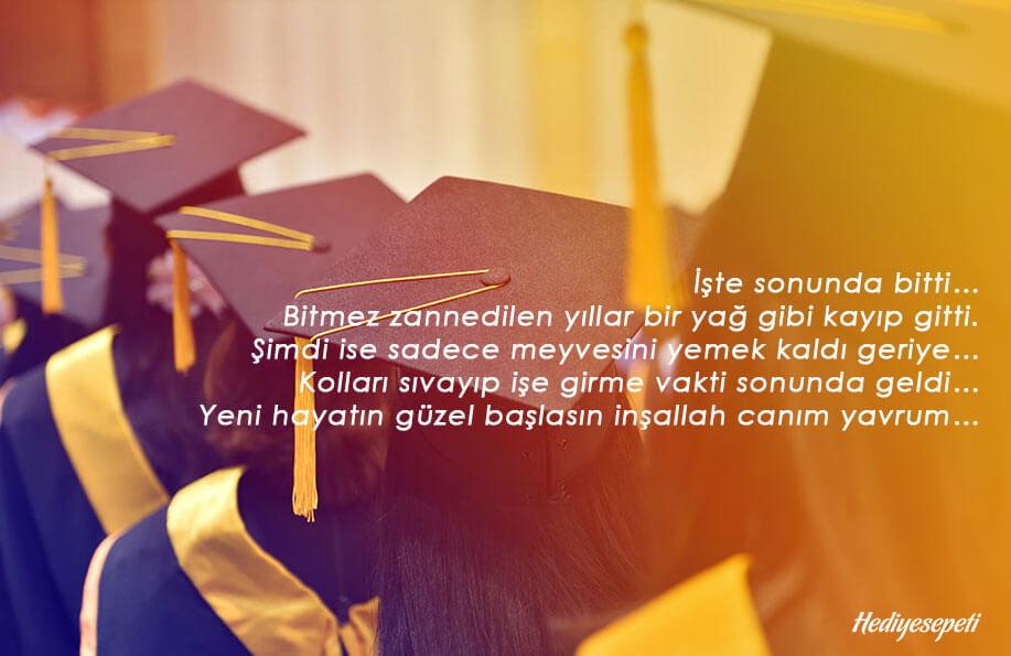mezuniyet sözleri kısa