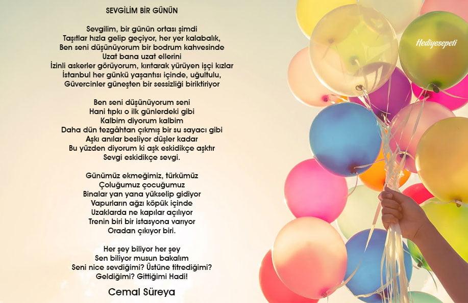 doğum günü şiirleri
