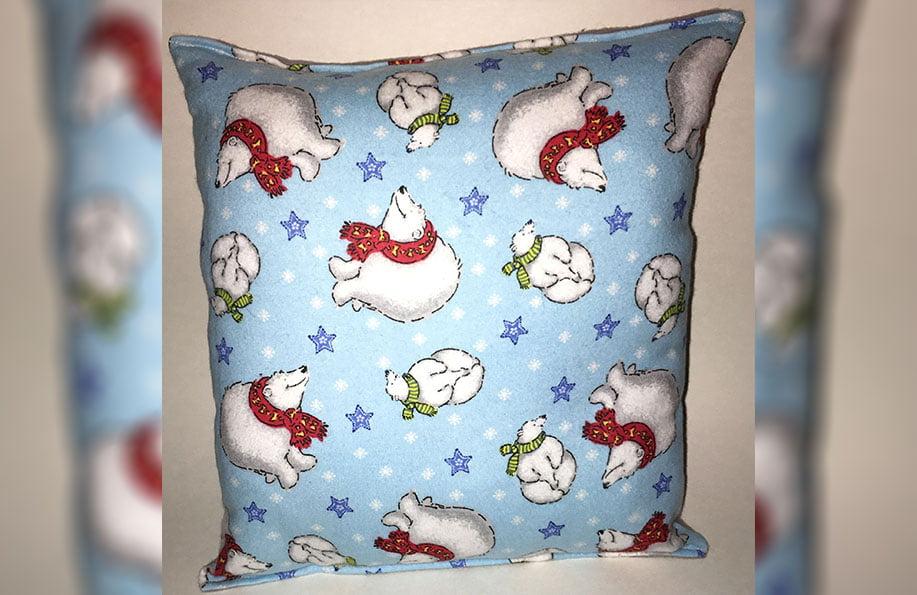 polar yastık yapımı