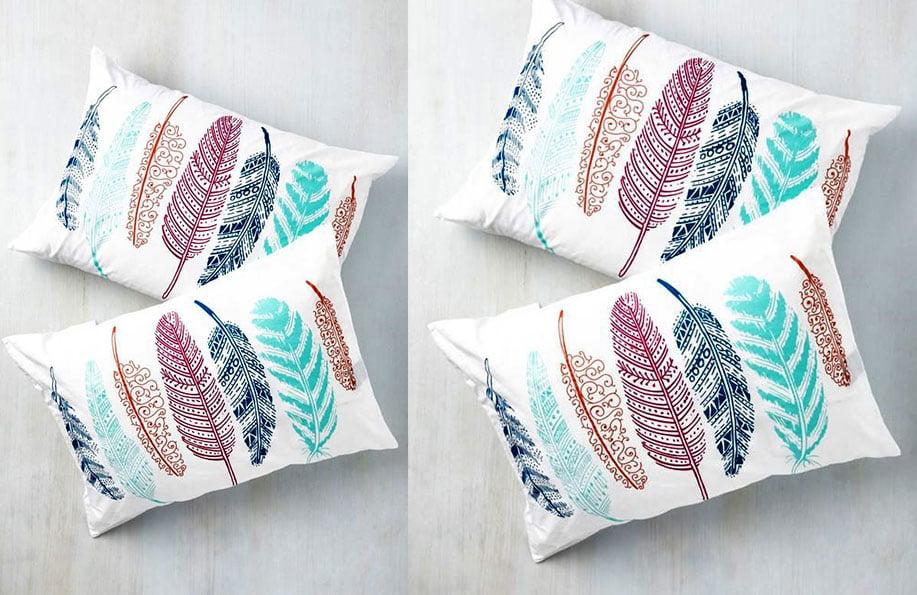 desenli yastık yapımı