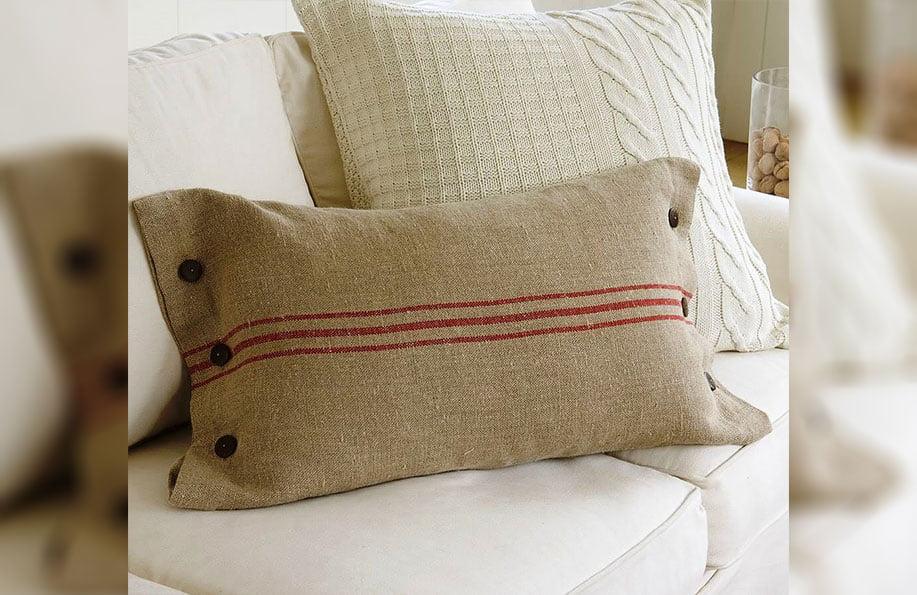 çuval yastık yapımı