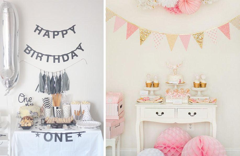 Doğum günü için ev süsleme