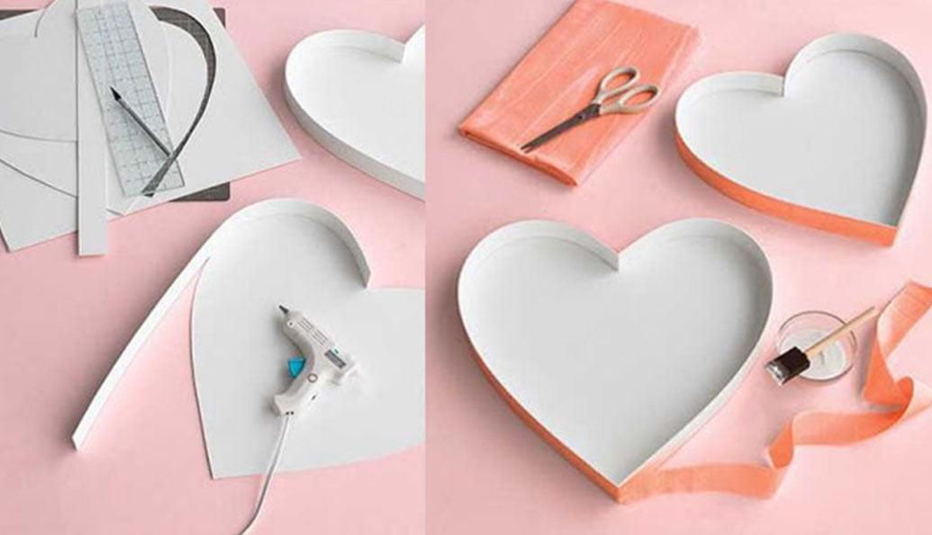 kalp hediye kutusu yapımı