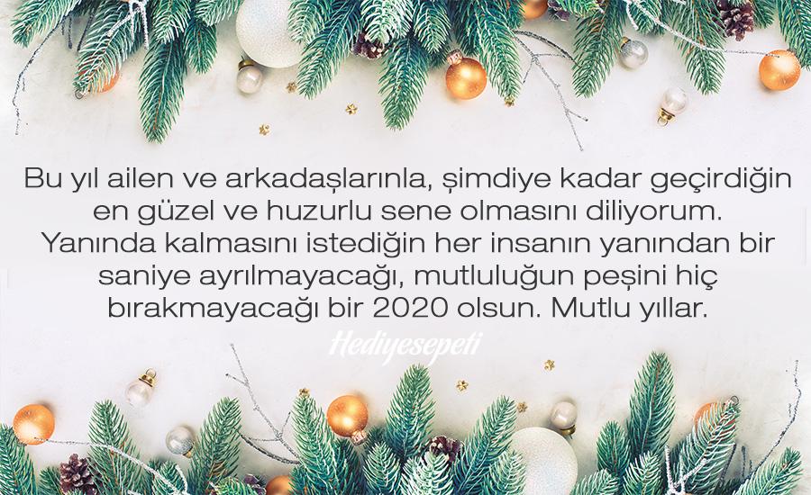 yeni yıl mesajı
