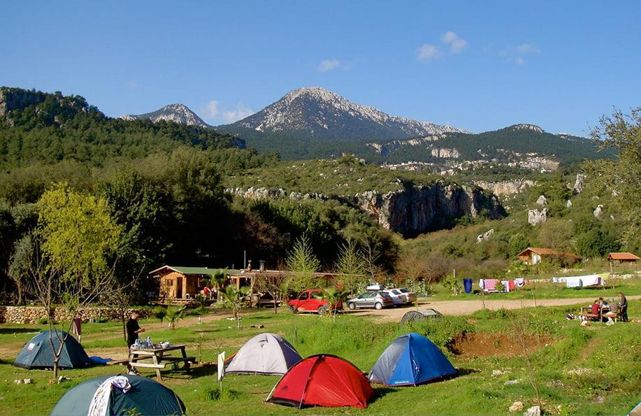 kamp alanları rido camping