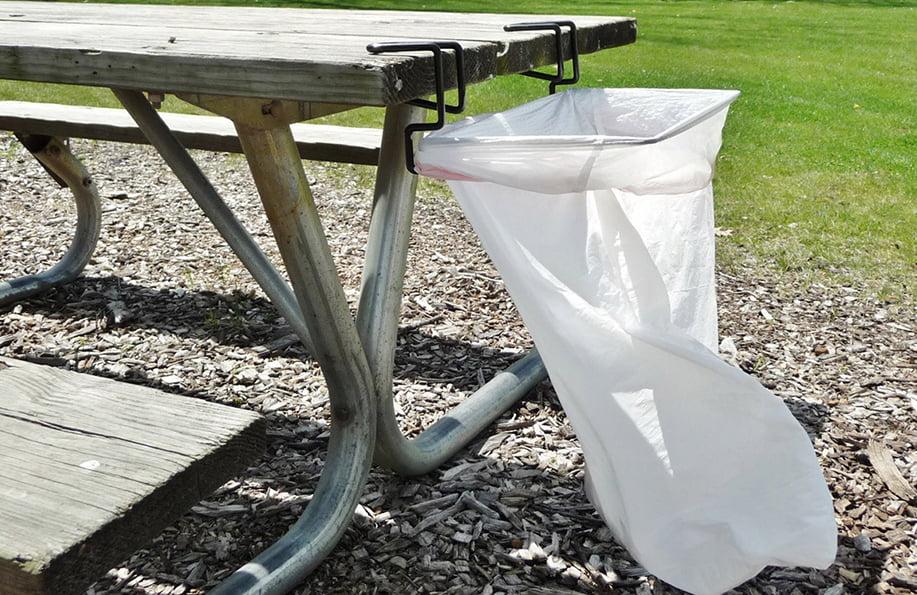 kamp çöp torbası