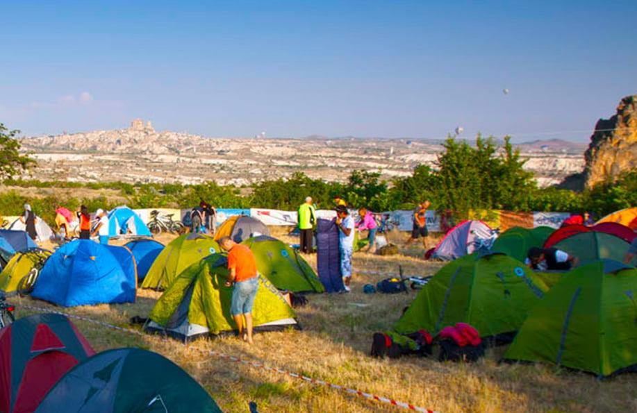 Kapadokya Kamp alanları