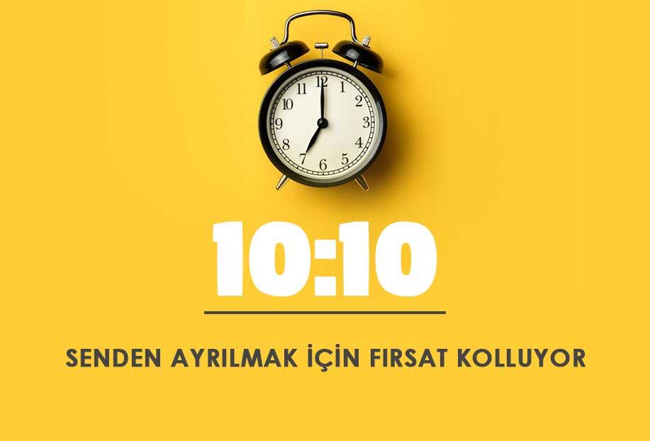 10 10 saat anlamı