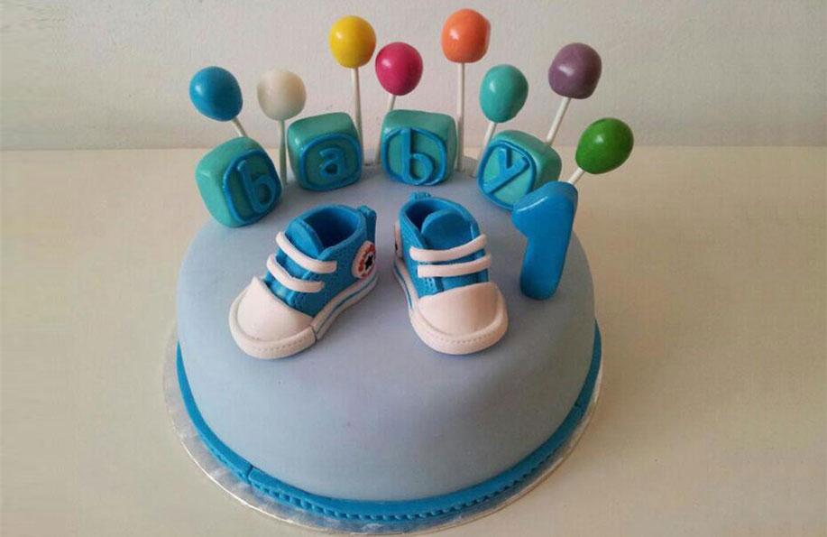 1 yaş pasta modelleri