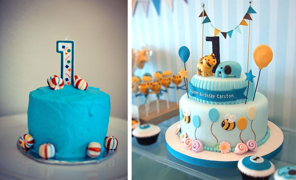 1 yaş pastası erkek