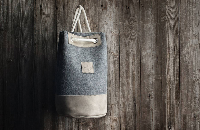 keçe çanta süslemeleri