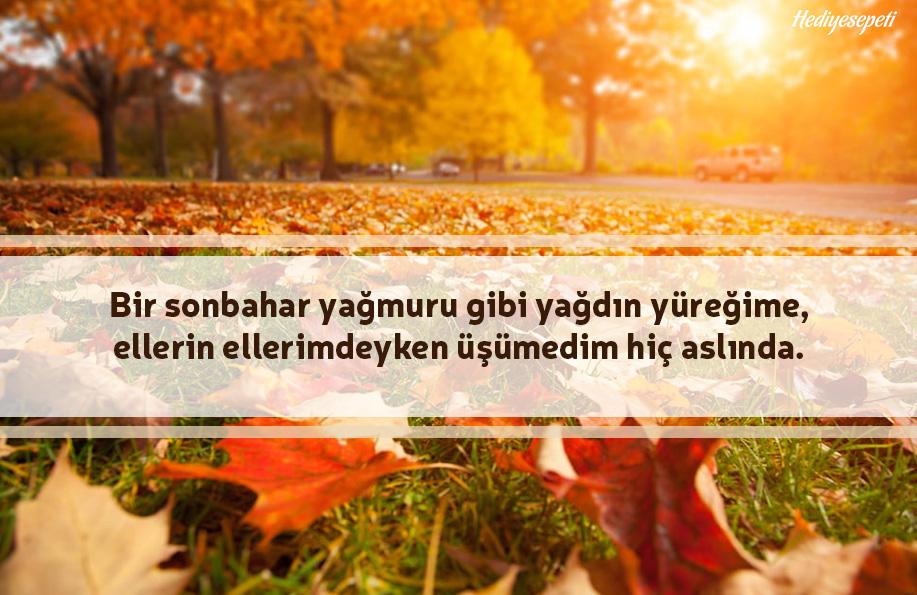 sonbahar sözleri
