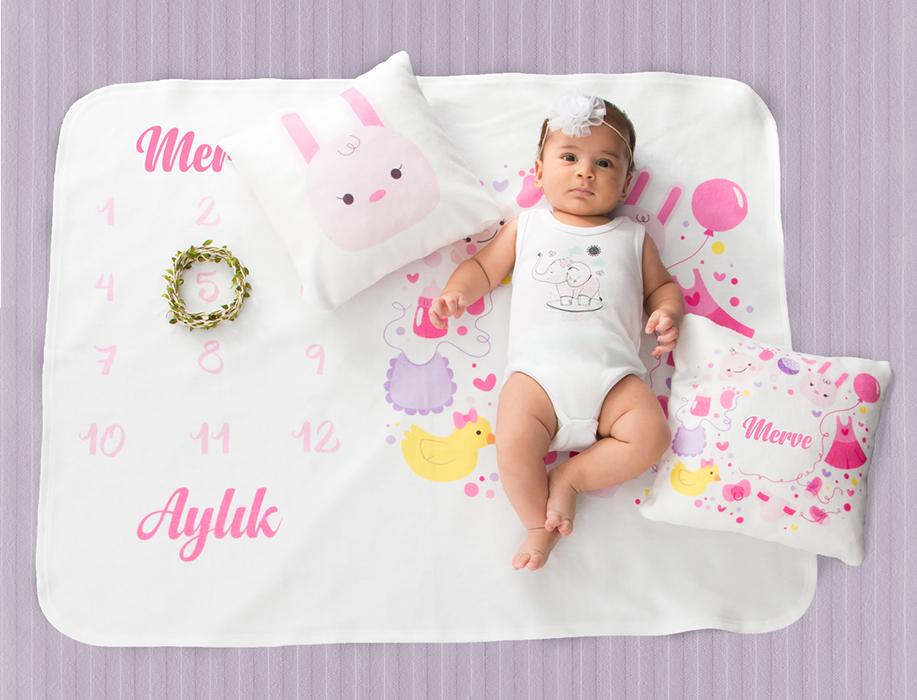 1 aylık bebek konseptleri