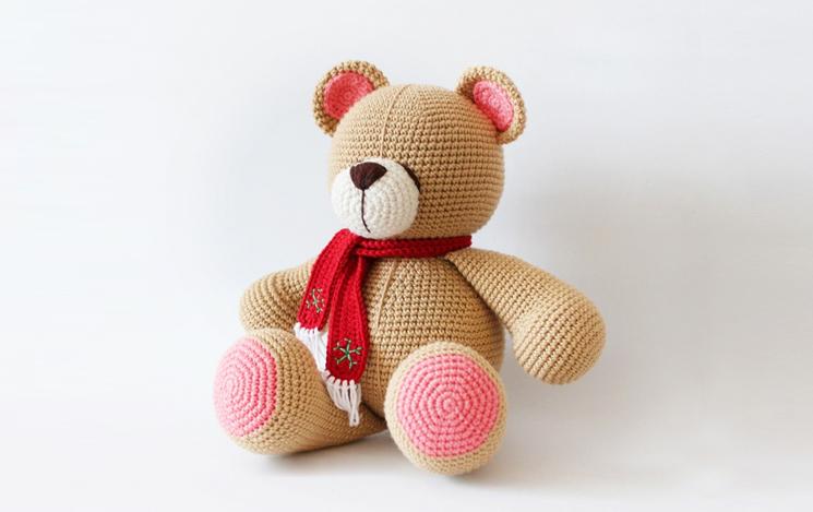 Amigurumi örgü minyatür oyuncak ayıcık yapılışı anlatımlı - Jule | 469x745