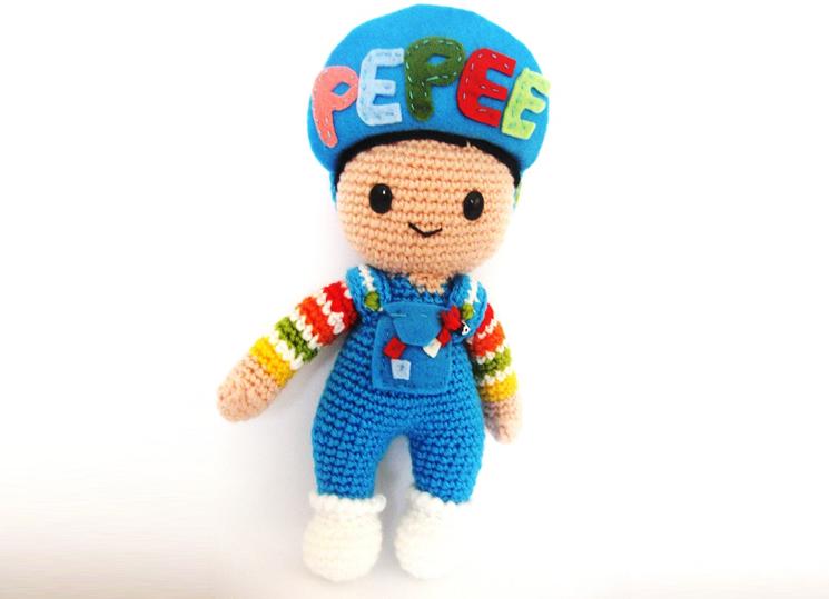 Amigurumi oyuncak bebek yapımı anlatımlı modelleri | 539x745