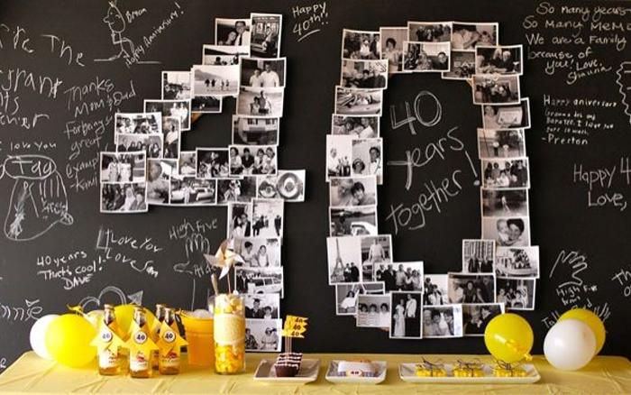 fotoğraflı doğum günü masası
