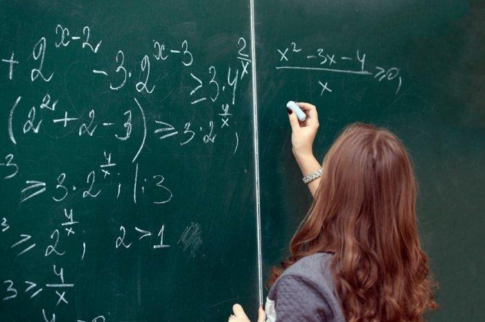 matematik öğretmenine hediye