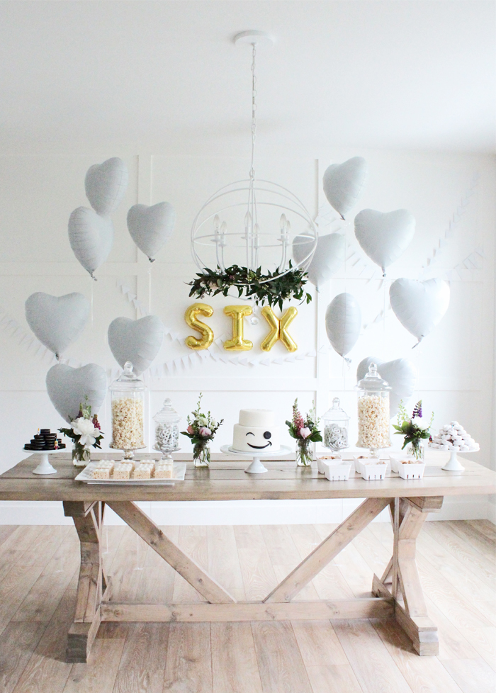 romantik doğum günü masası