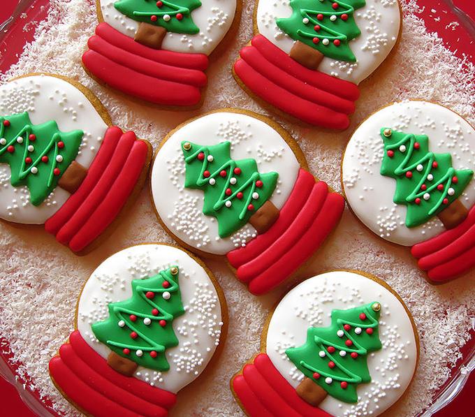 yılbaşı kurabiye