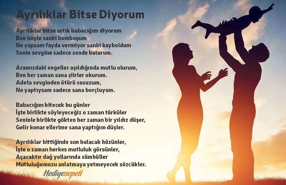 babalar günü için şiir