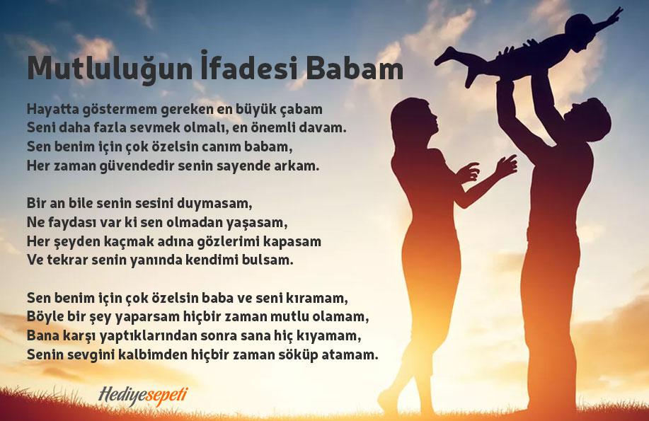 babalar günü ile ilgili şiirler