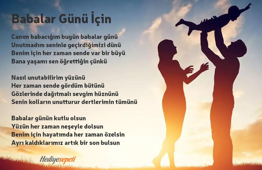 babalar günü şiiri