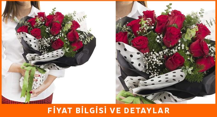 uzaktaki sevgiliye çiçek